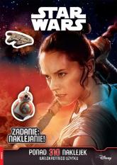 Star Wars Zadanie naklejanie -    mała okładka