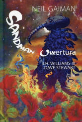 Sandman Uwertura - Neil Gaiman | mała okładka