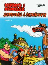 Kajko i Kokosz Szranki i konkury cz 3 - Janusz Christa | mała okładka