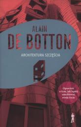 Architektura szczęścia - Alain Botton | mała okładka