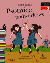 Psotnice podwórkowe Czytam sobie poziom 3 - Rafał Witek | mała okładka