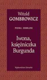 Iwona księżniczka Burgunda - Witold Gombrowicz | mała okładka