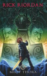 Magnus Chase i bogowie Asgardu Tom 2 Młot Thora - Rick Riordan | mała okładka