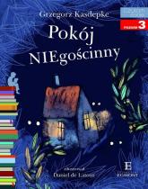 Pokój NIEgościnny Czytam sobie poziom 3 - Grzegorz Kasdepke | mała okładka