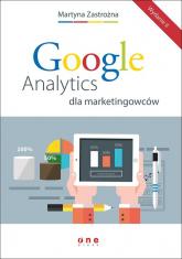 Google Analytics dla marketingowców - Martyna Zastrożna | mała okładka