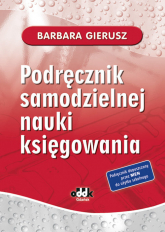 Podręcznik samodzielnej nauki księgowania - Barbara Gierusz | mała okładka