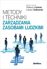 Metody i techniki zarządzania zasobami ludzkimi -  | mała okładka