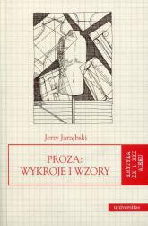 Proza Wykroje i wzory - Jerzy Jarzębski | mała okładka