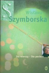 Sto wierszy - sto pociech - Wisława Szymborska | mała okładka