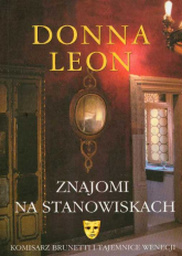 Znajomi na stanowiskach - Donna Leon | mała okładka