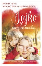 Jajko z niespodzianką - Agnieszka Krakowiak-Kondracka | mała okładka