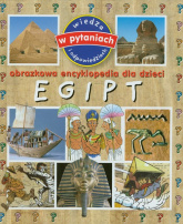 Egipt Obrazkowa encyklopedia dla dzieci - Emmanuelle Paroissien | mała okładka