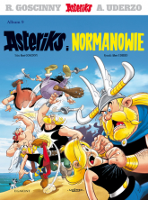 Asteriks Asteriks i Normanowie Tom 9 - Goscinny Rene, Uderzo Albert | mała okładka