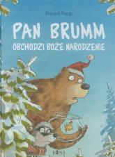 Pan Brumm obchodzi Boże Narodzenie - Daniel Napp | mała okładka