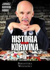 Historia według Korwina - Korwin Mikke Janusz | mała okładka