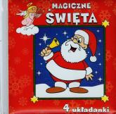 Magiczne Święta 4 układanki - Urszula Kozłowska | mała okładka