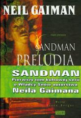 Sandman Preludia i nokturny Tom 1 - Neil Gaiman | mała okładka
