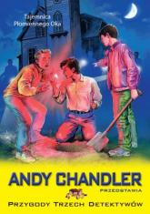 Przygody Trzech Detektywów Tom 6 Tajemnica Płomiennego Oka - Andy Chandler   mała okładka
