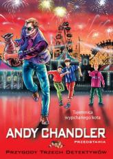 Tajemnica wypchanego kota Tom 12 - Andy Chandler   mała okładka