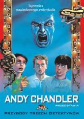 Przygody Trzech Detektywów Tom 20 Tajemnica nawiedzonego zwierciadła - Andy Chandler   mała okładka
