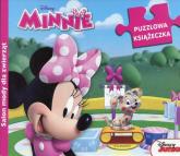 Salon mody dla zwierząt Minnie Puzzlowa książeczka -  | mała okładka
