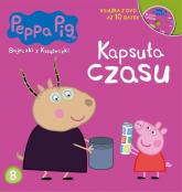 Świnka Peppa Bajeczki z książeczki Część 8 Kapsuła  czasu - zbiorowe opracowanie | mała okładka