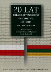 20 lat polsko-litewskiego sąsiedztwa 1991-2011 Wybrane problemy -    mała okładka