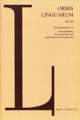 Orbis Linguarum vol.44 -  | mała okładka