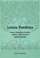 Lutnia Puszkina - Aleksander Puszkin | mała okładka