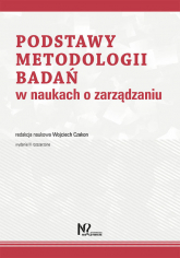 Podstawy metodologii badań w naukach o zarządzaniu -    mała okładka