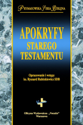 Apokryfy Starego Testamentu - Ryszard Rubinkiewicz | mała okładka