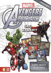 Avengers gry i zabawy + karty do zabawy do wypchnięcia -  | mała okładka