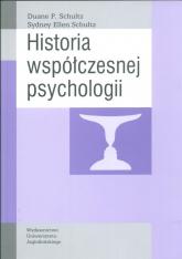 Historia współczesnej psychologii - Schultz Sydney Ellen | mała okładka