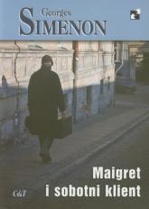 Maigret i sobotni klient - Georges Simenon | mała okładka