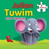 Słoń Trąbalski Książka z puzzlami - Julian Tuwim | mała okładka