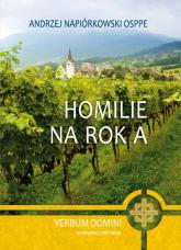 Homilie na rok A - Andrzej Napiórkowski | mała okładka