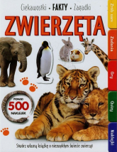 Zwierzęta Ciekawostki fakty zagadki - zbiorowa praca | mała okładka