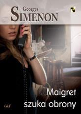 Maigret szuka obrony - Georges Simenon | mała okładka