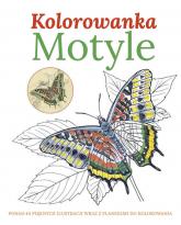 Motyle Kolorowanka - zbiorowa praca | mała okładka