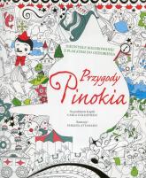 Przygody Pinokia Niezwykłe kolorowanki z plakatem do ozdobienia -  | mała okładka