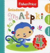 Fisher Price Puzzle Śniadanie małpki - Anna Wiśniewska | mała okładka