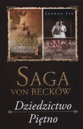 Saga Von Becków Dziedzictwo / Piętno Pakiet - Joanna Jax | mała okładka