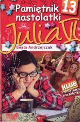 Pamiętnik nastolatki 13 Julia VI - Beata Andrzejczuk | mała okładka