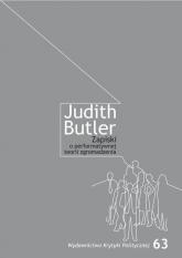 Zapiski o performatywnej teorii zgromadzenia - Judith Butler   mała okładka