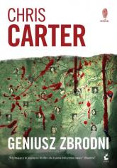 Geniusz zbrodni - Chris Carter | mała okładka