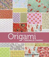 Origami i dekoracje z papieru papieru - Ghylenn Descamps, Maria Zawanowska, Jean-Baptiste Pellerin   mała okładka