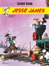 Lucky Luke Jesse James - Rene Goscinny | mała okładka