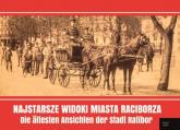 Najstarsze widoki miasta Raciborza Die ältesten Ansichten der Stadt Ratibor - Grzegorz Wawoczny | mała okładka