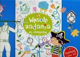 Wesołe zadania dla chłopców Naklejaj i baw się - Anna Wiśniewska   mała okładka
