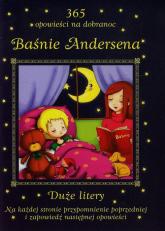 Baśnie Andersena 365 opowieści na dobranoc Duże litery - Patrycja Zarawska | mała okładka